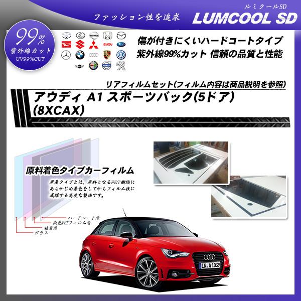 アウディ A1 スポーツバック(5ドア) (8XCAX) ルミクールSD カット済みカーフィルム リアセット