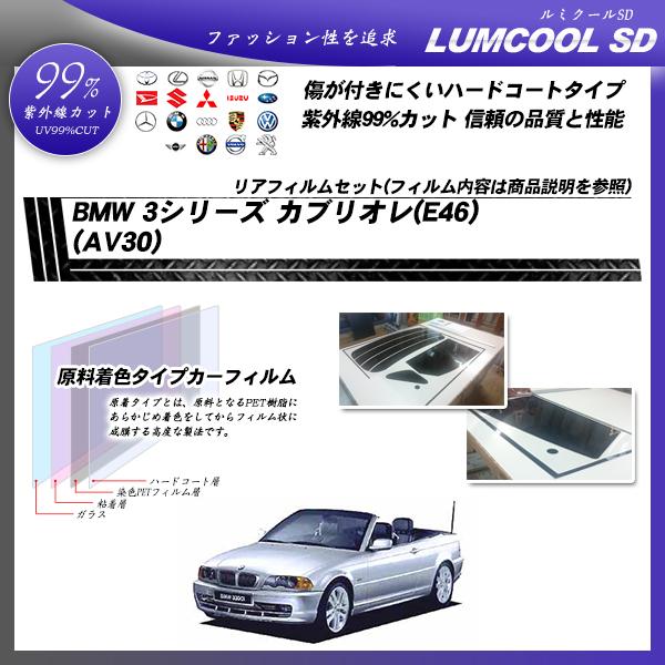 BMW 3シリーズ カブリオレ(E46) (AV30) ルミクールSD カット済みカーフィルム リアセットの詳細を見る